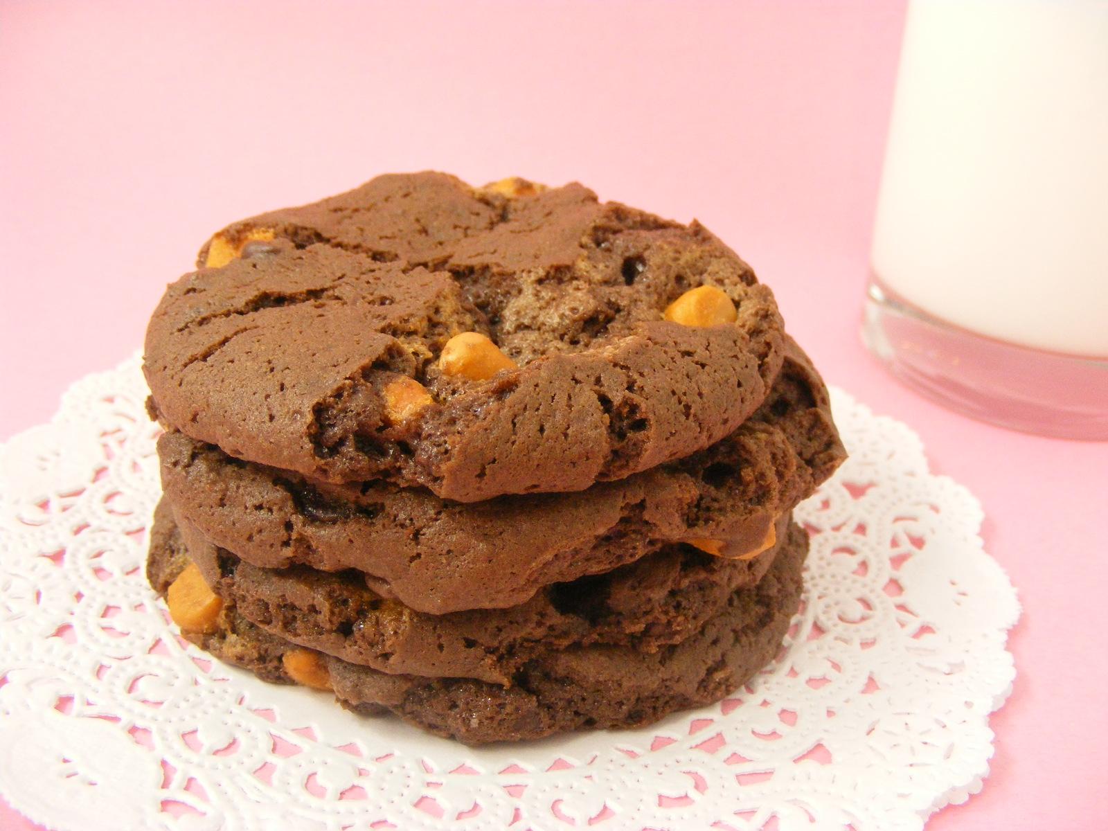 Butterscotch Choc Cookies