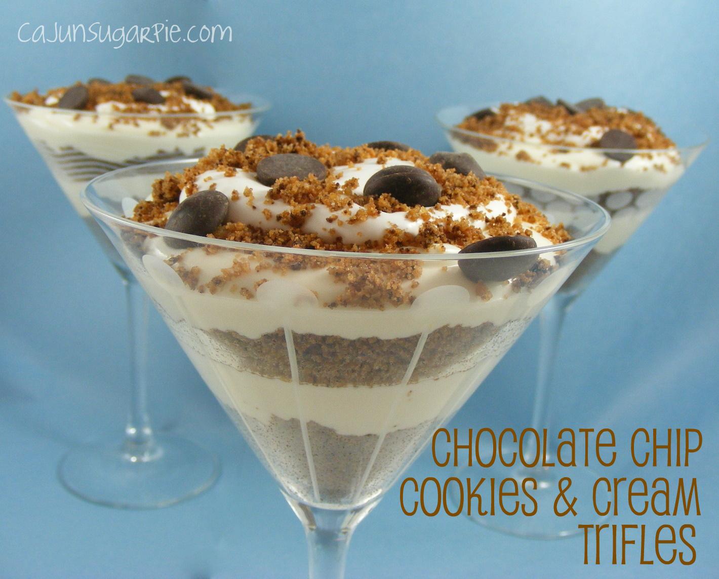 Chocolate Cookie Trifle