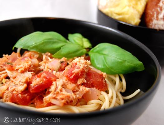 Diced Tomato Pasta